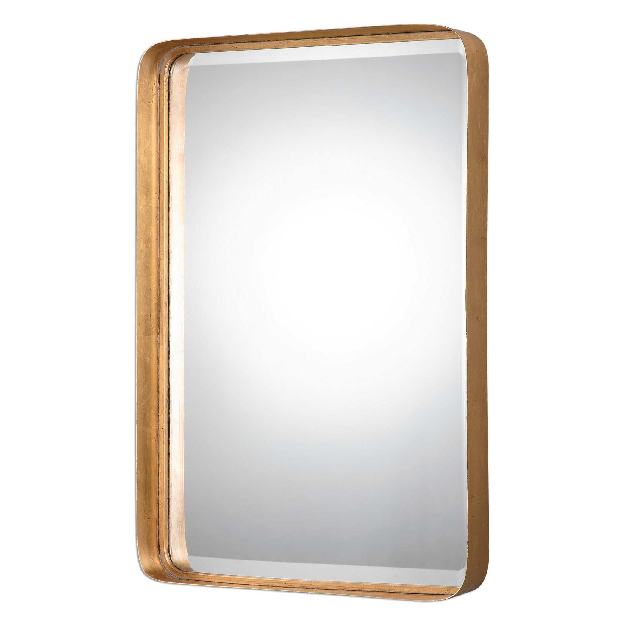 Mirrors Crofton Antique Gold Mirror by Uttermost at Suburban Furniture
