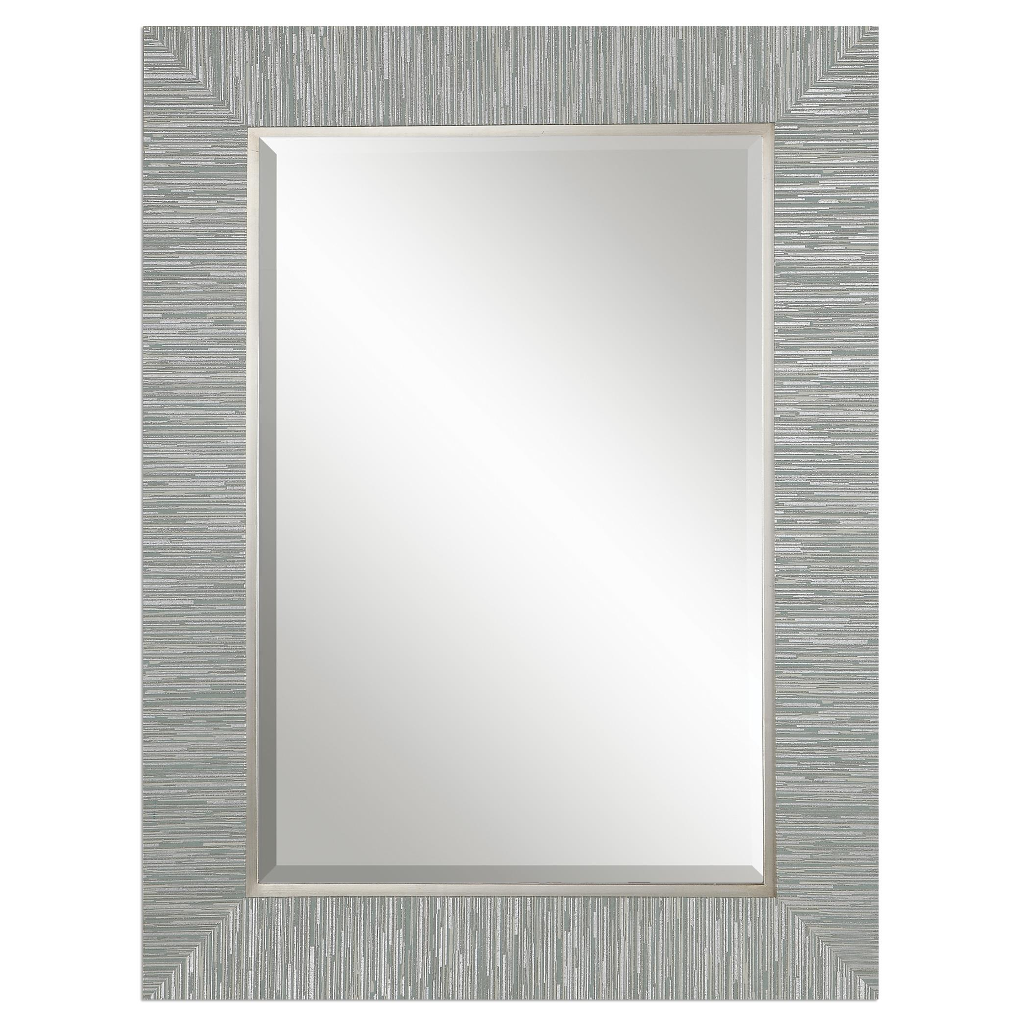 Mirrors Belaya Gray Wood Mirror by Uttermost at Stuckey Furniture