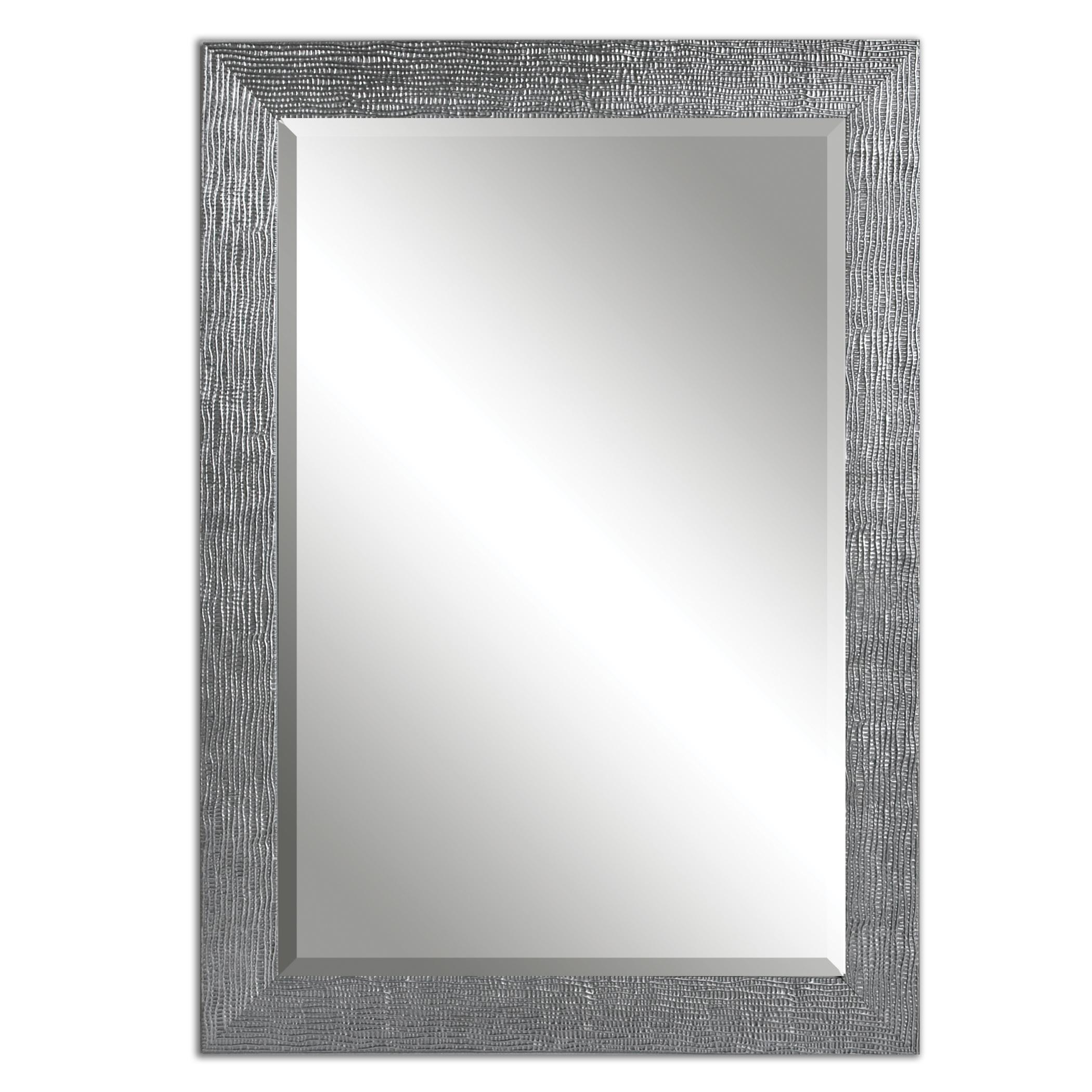 Mirrors Tarek Silver Mirror by Uttermost at Darvin Furniture
