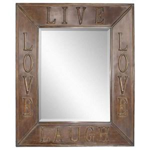 Live Laugh Love Mirror