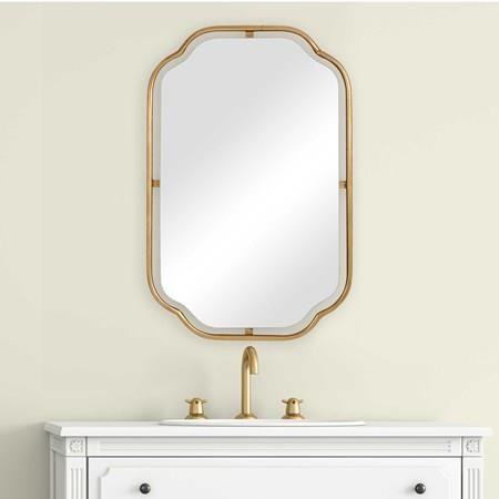 Mirrors BENJAMIN WALL MIRROR by Unique at Walker's Furniture