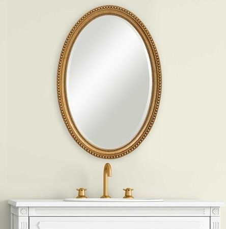 Mirrors EMERSON WALL MIRROR by Unique at Walker's Furniture