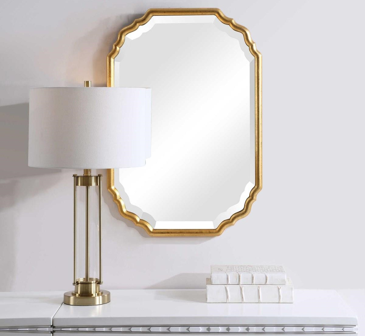 Mirrors KINSLEY WALL MIRROR by Unique at Walker's Furniture
