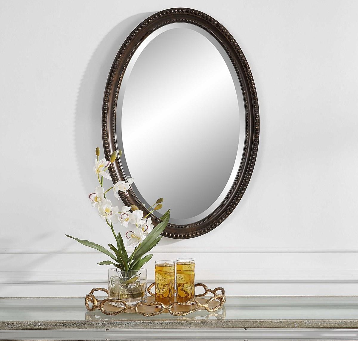 Mirrors YENTA WALL MIRROR by Unique at Walker's Furniture