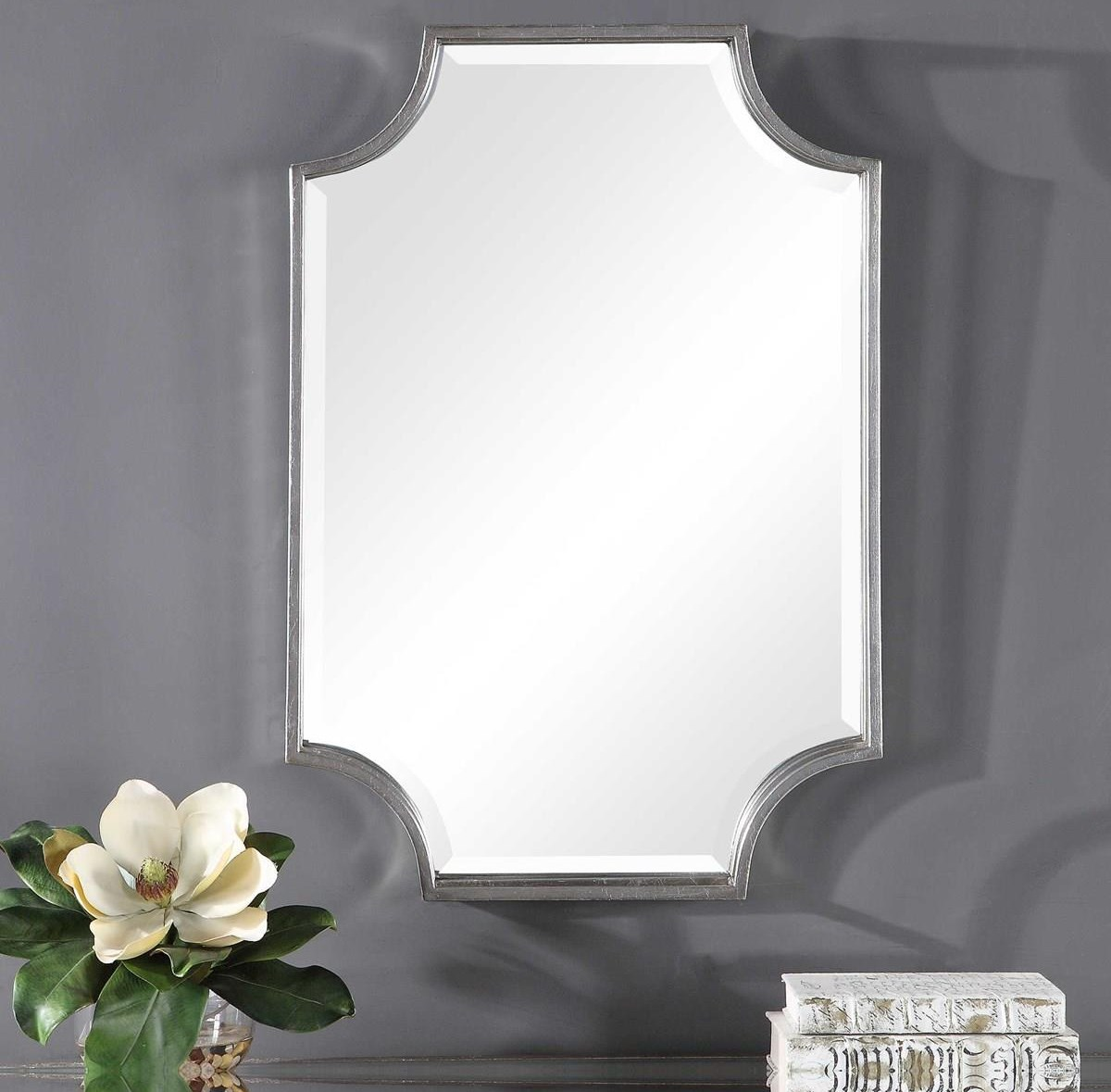 Mirrors AUDREY WALL MIRROR by Unique at Walker's Furniture
