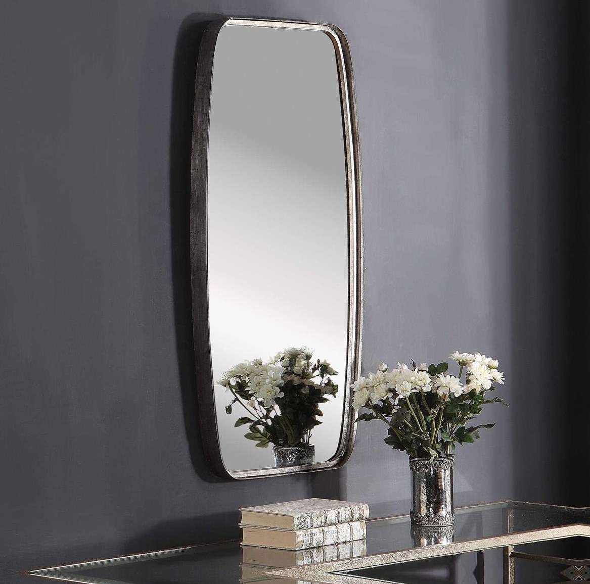 Mirrors HANNAH WALL MIRROR by Unique at Walker's Furniture