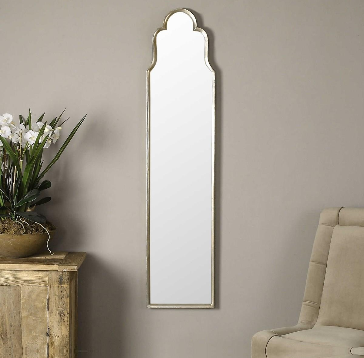 Mirrors NAOMI WALL MIRROR by Unique at Walker's Furniture