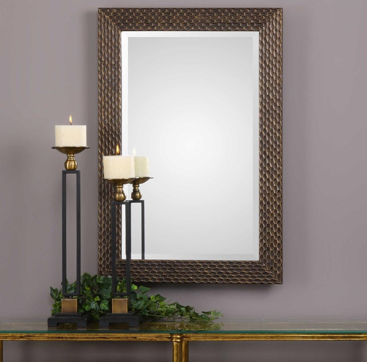 Mirrors SCARLETT WALL MIRROR by Unique at Walker's Furniture