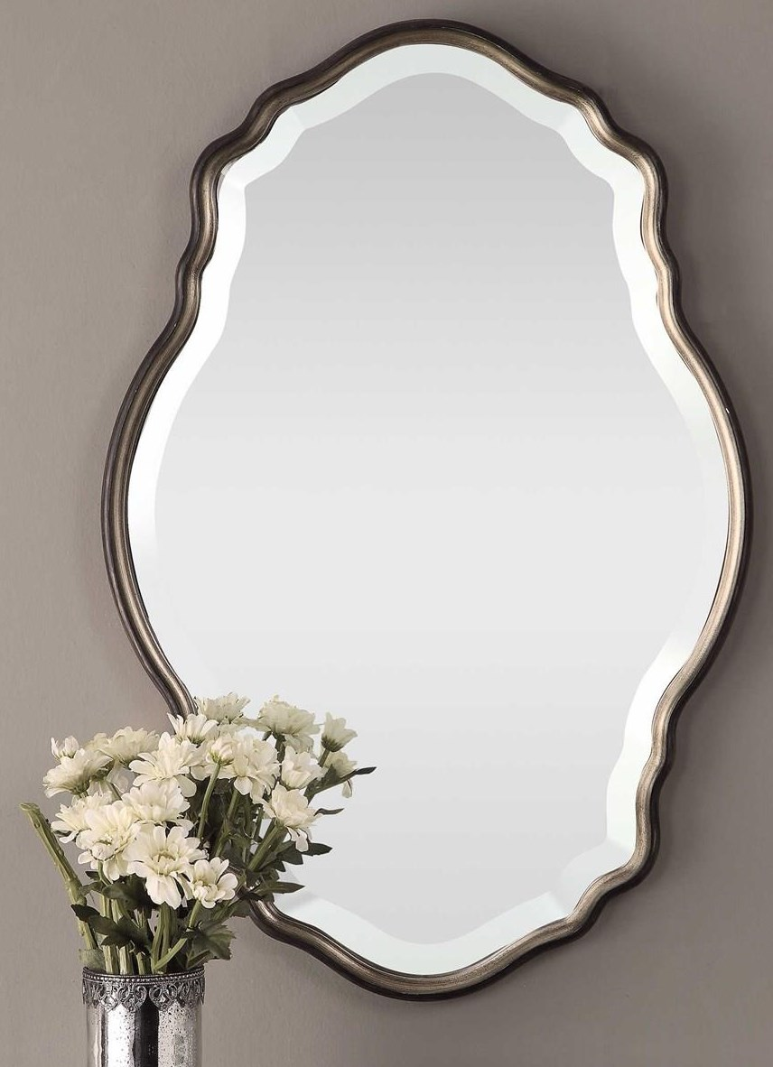 Mirrors RILEY WALL MIRROR by Unique at Walker's Furniture