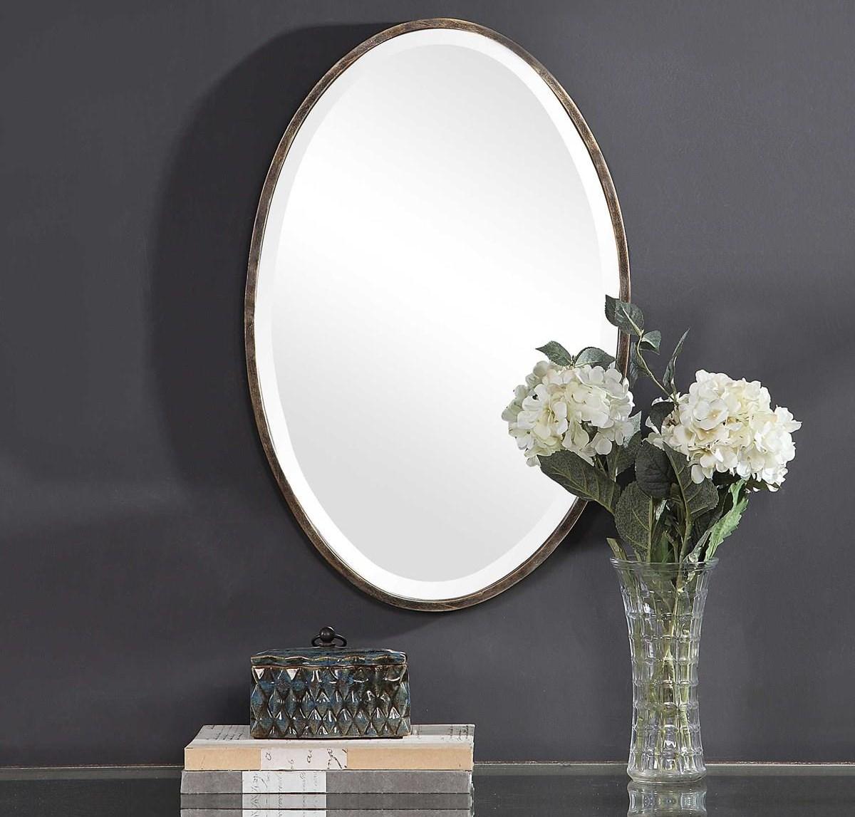 Mirrors AUBREY WALL MIRROR by Unique at Walker's Furniture