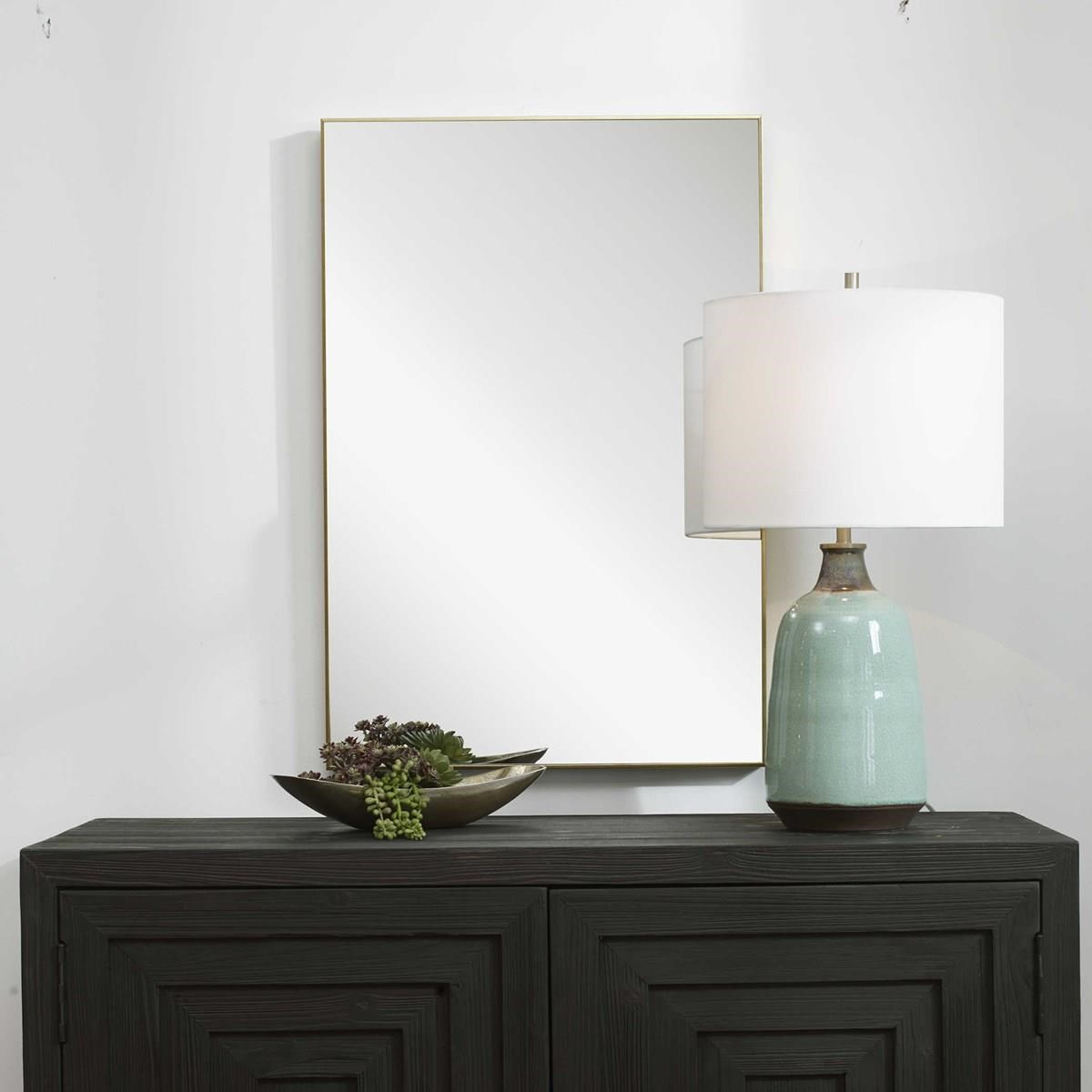 Mirrors DELILAH WALL MIRROR by Unique at Walker's Furniture
