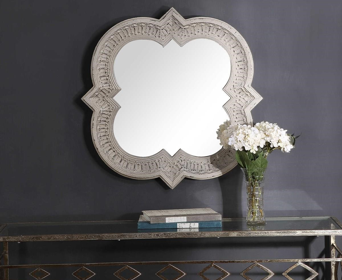 Mirrors VIOLET WALL MIRROR by Unique at Walker's Furniture
