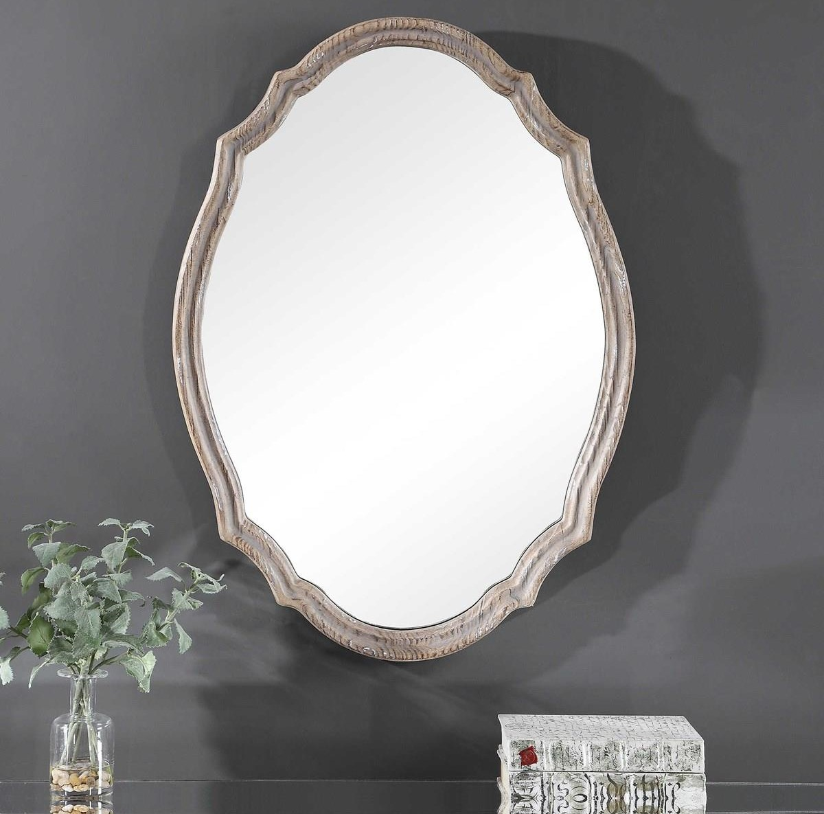 Mirrors LUCY WALL MIRROR by Unique at Walker's Furniture