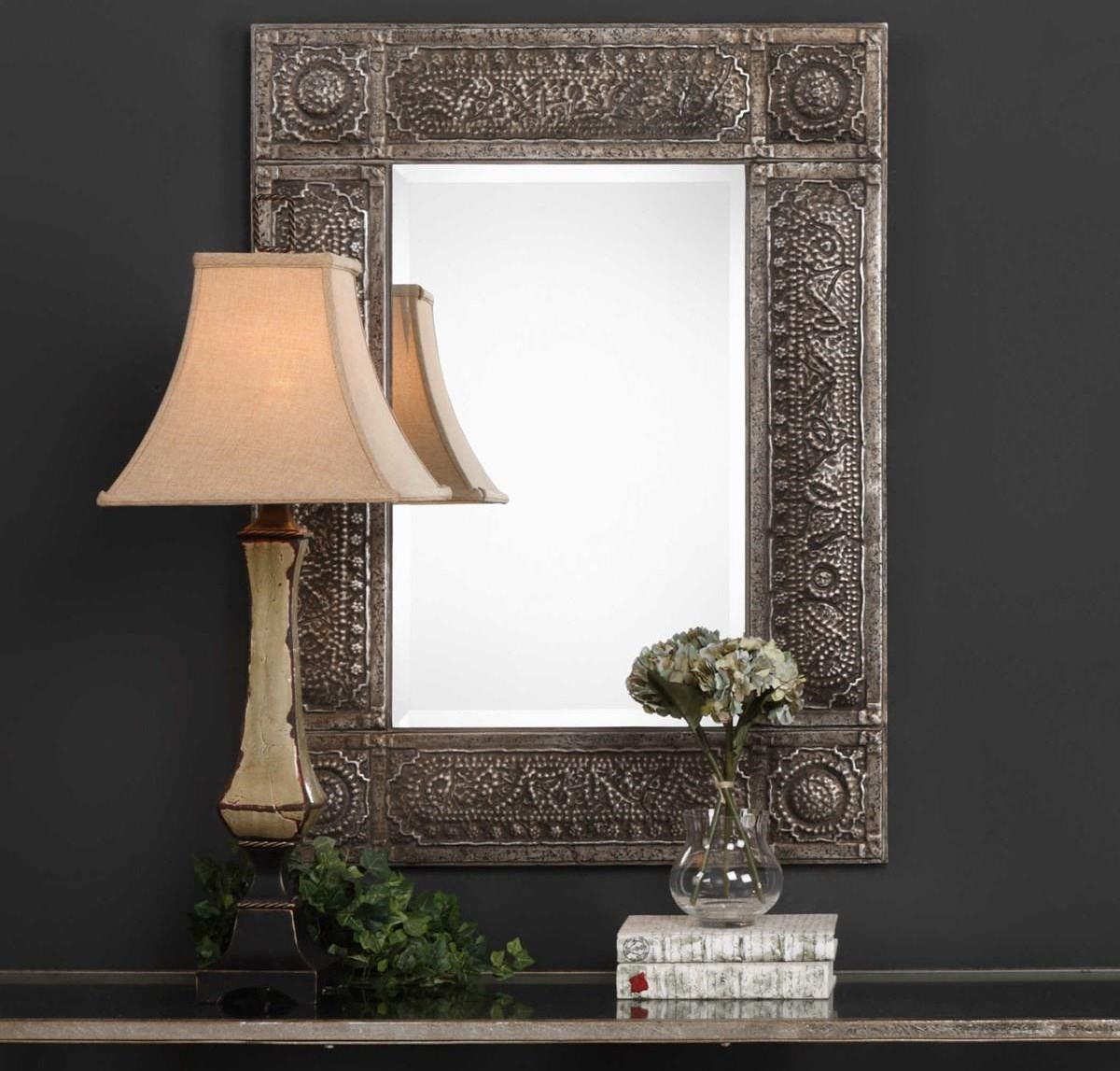 Mirrors HARPER WALL MIRROR by Unique at Walker's Furniture