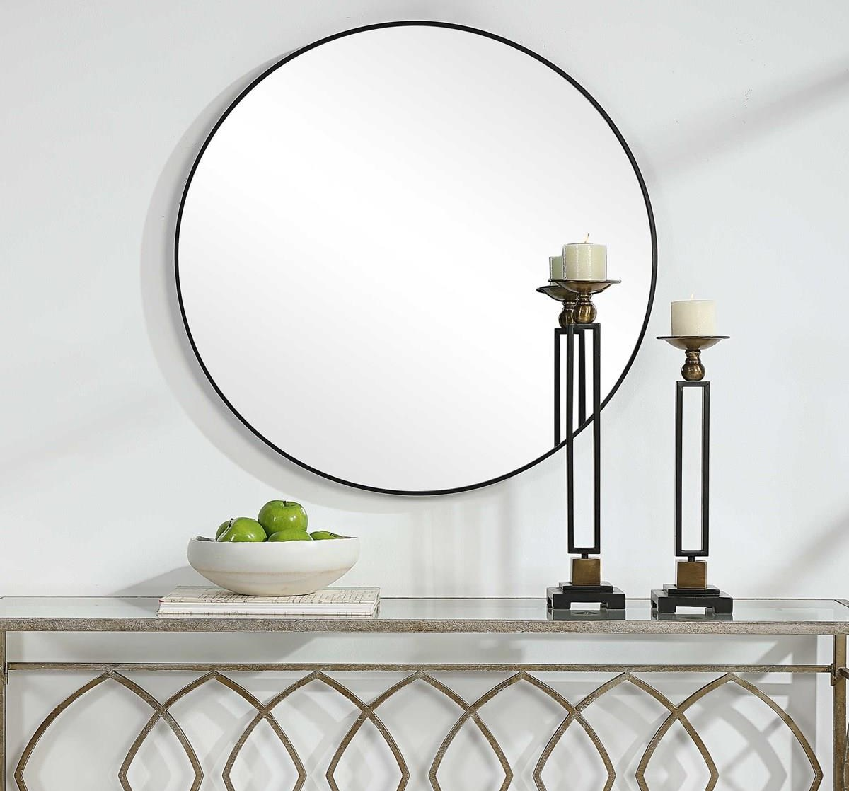 Mirrors NEVAEH WALL MIRROR by Unique at Walker's Furniture