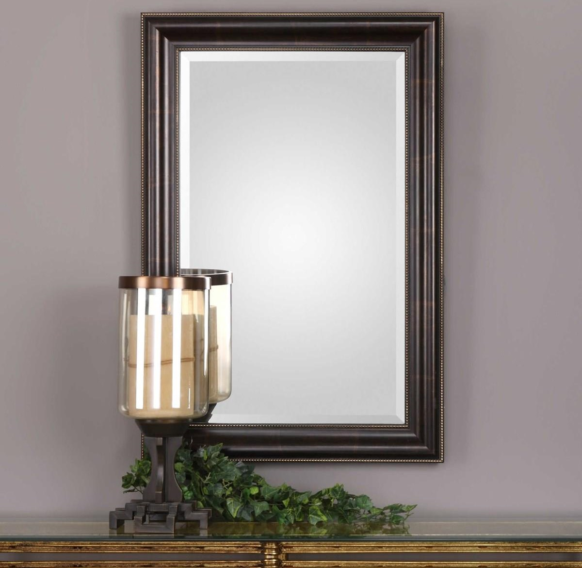 Mirrors LUNA WALL MIRROR by Unique at Walker's Furniture