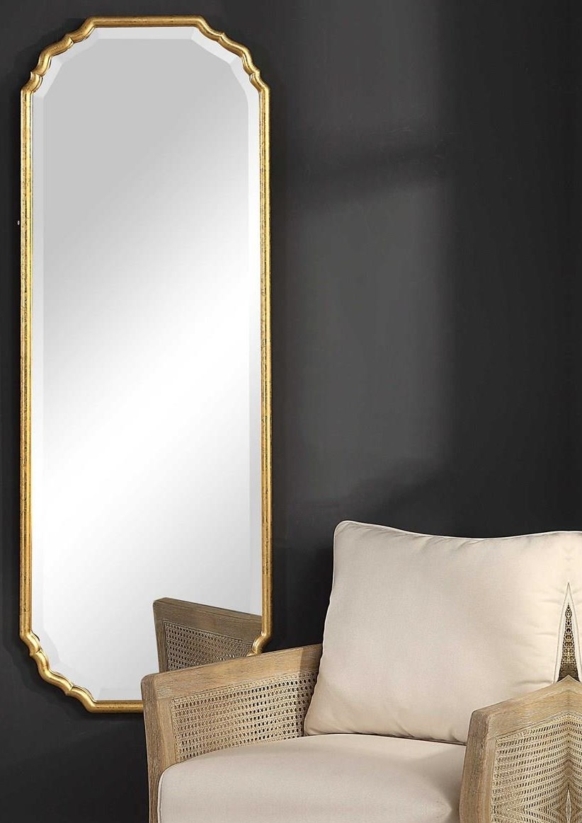 Mirrors NORA WALL MIRROR by Unique at Walker's Furniture