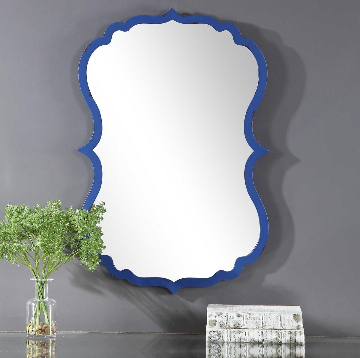 Mirrors BELLA WALL MIRROR by Unique at Walker's Furniture