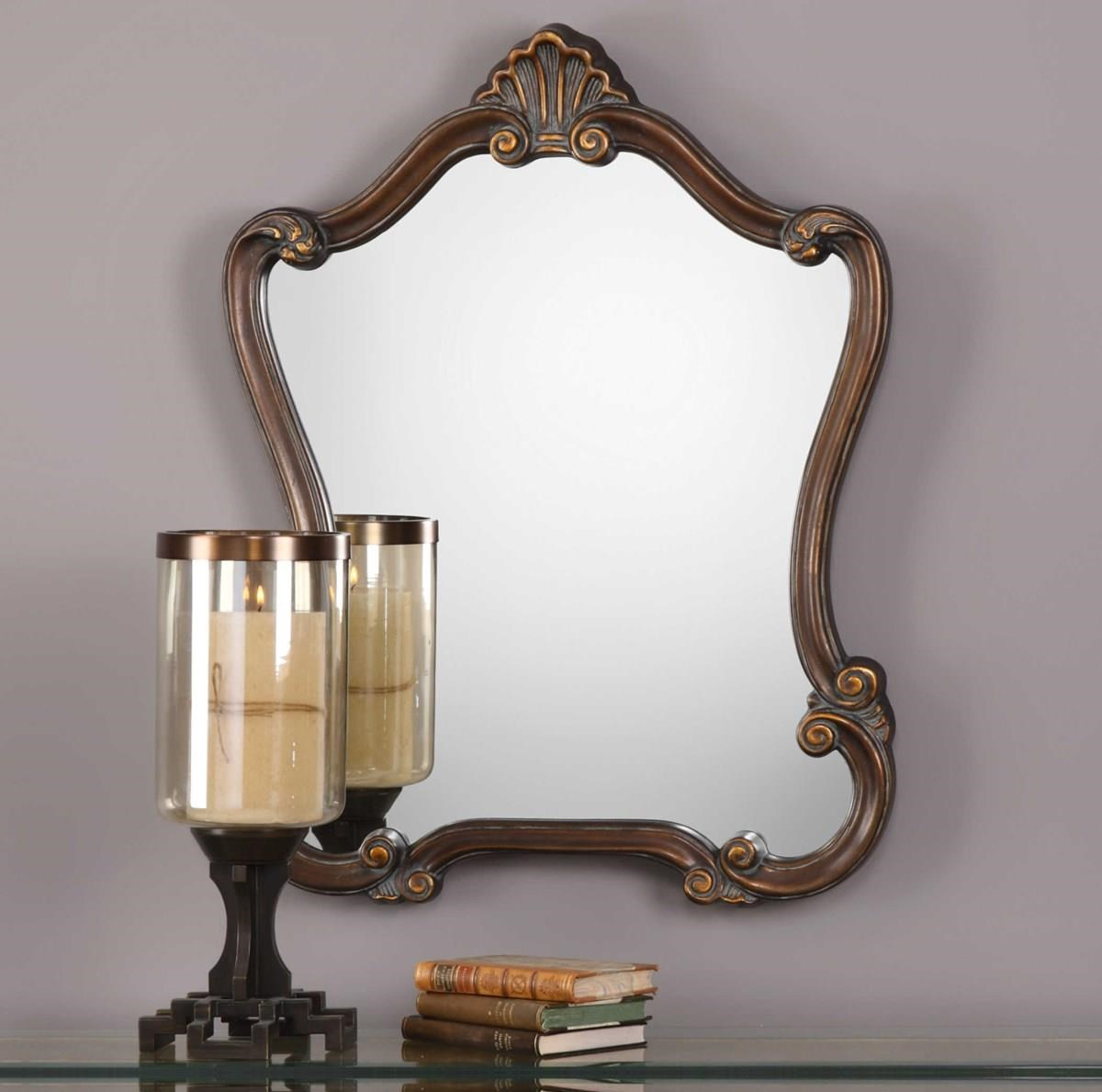 Mirrors PENELOPE WALL MIRROR by Unique at Walker's Furniture