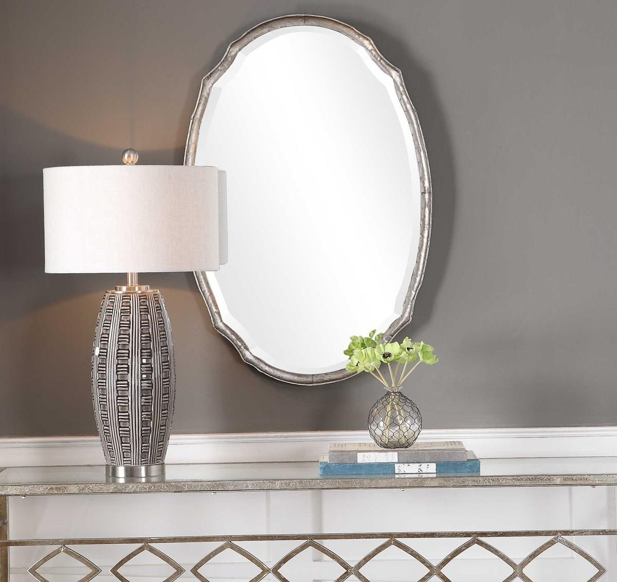 Mirrors AURORA WALL MIRROR by Unique at Walker's Furniture