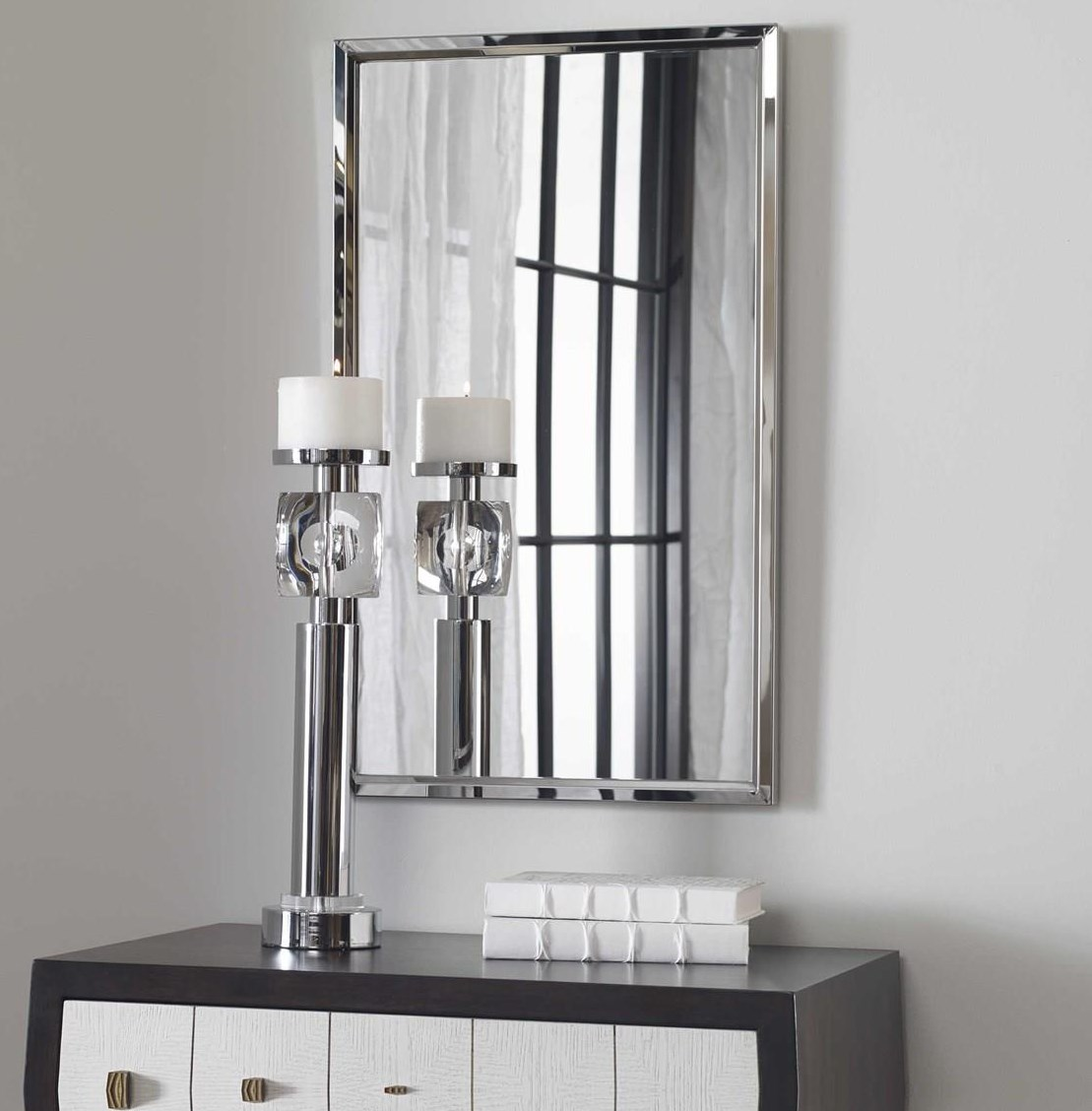 Mirrors QUINN WALL MIRROR by Unique at Walker's Furniture