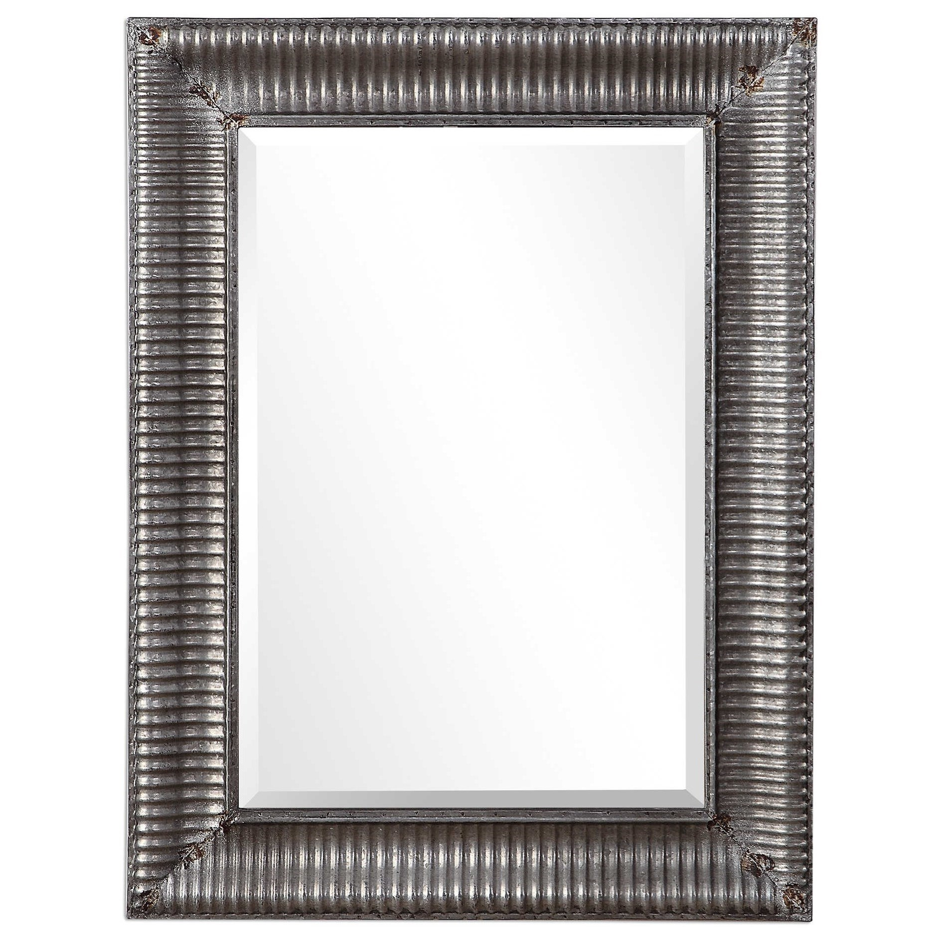Mirrors LILY INDUSTRIAL MIRROR by Unique at Walker's Furniture