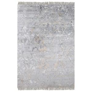 Bhutan Gray 6 x 9 Rug