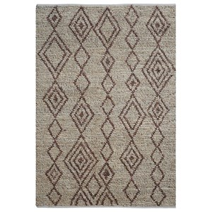 Onam Brown 5 x 8 Rug