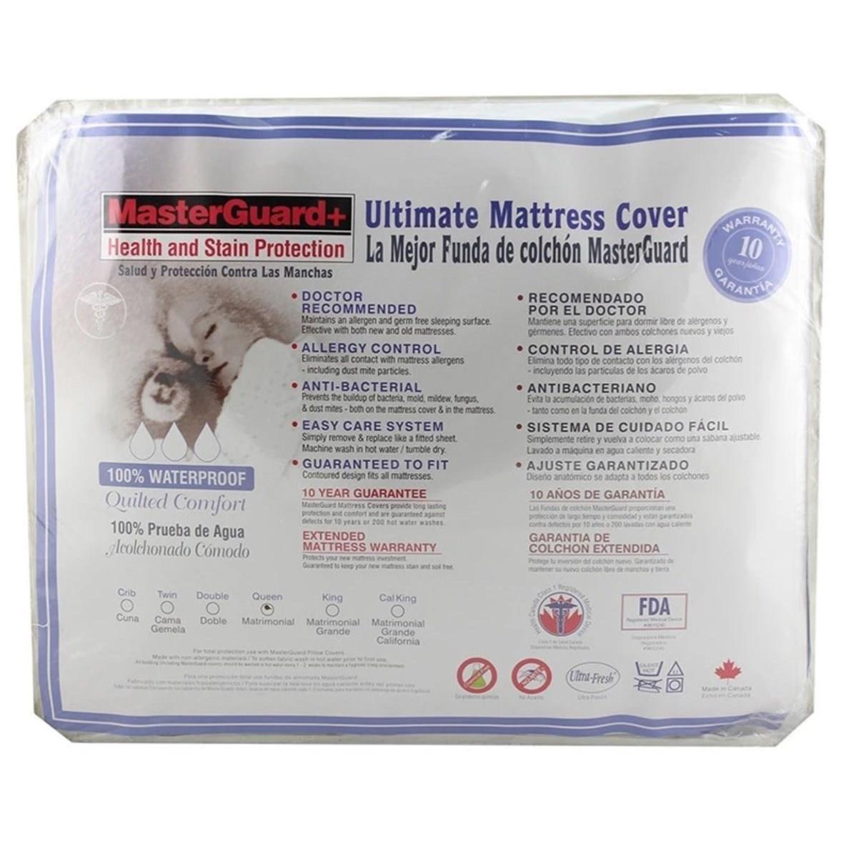 Luxury Protector Full Luxury Mattress Protector by UV3 Masterguard at Sam Levitz Furniture