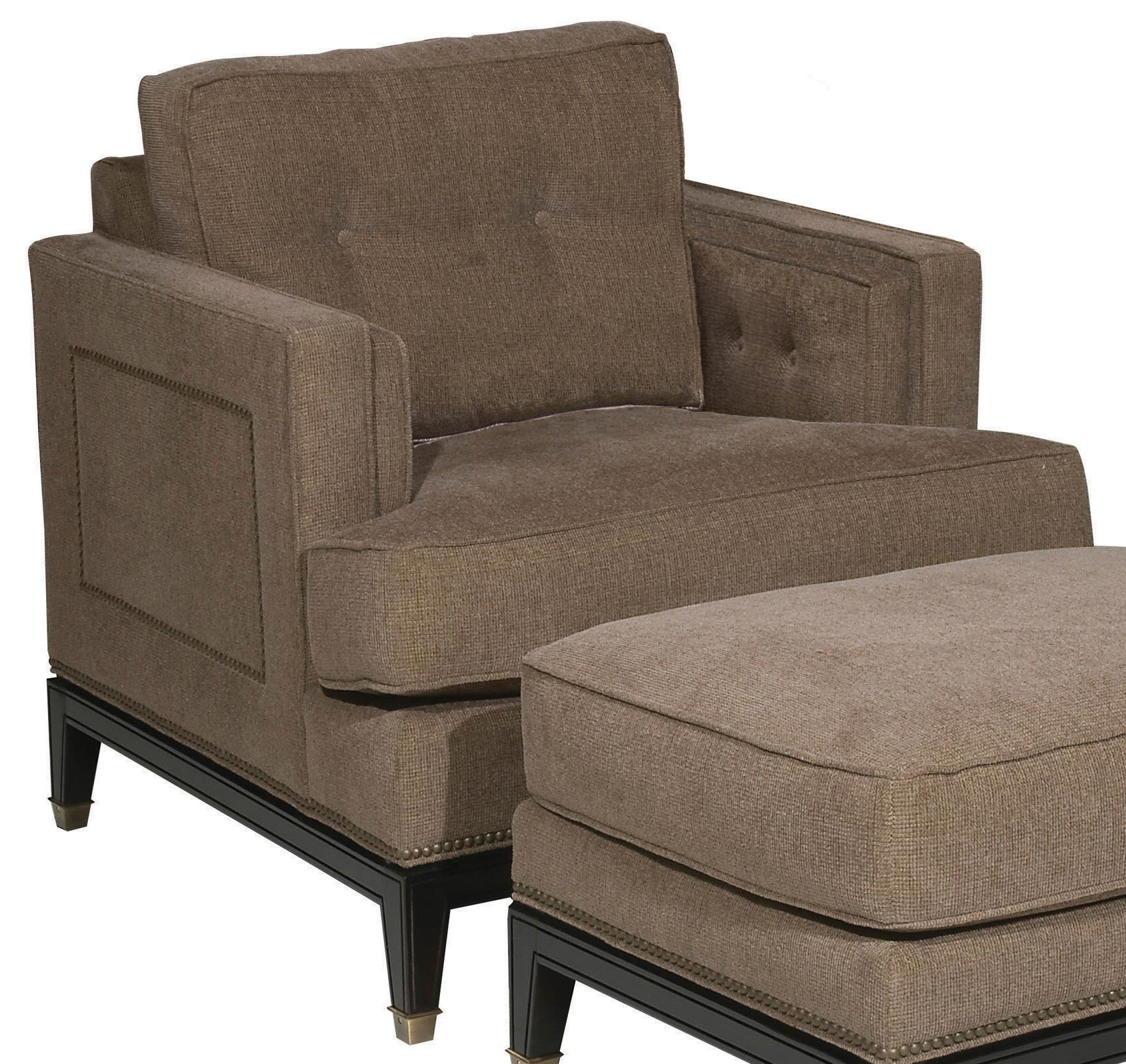 Accent Chairs Whitaker Upholstered Chair by Vanguard Furniture at Sprintz Furniture