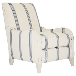 Zoe Upholstered Chair with Tall Legs