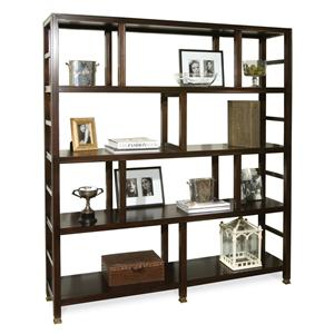 Addison Bookcase with 4 Shelves and Ladder-Like Sides