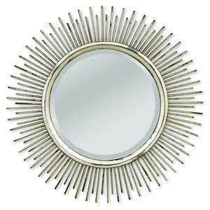 Carmen Spoked Mirror with Cast Iron Frame