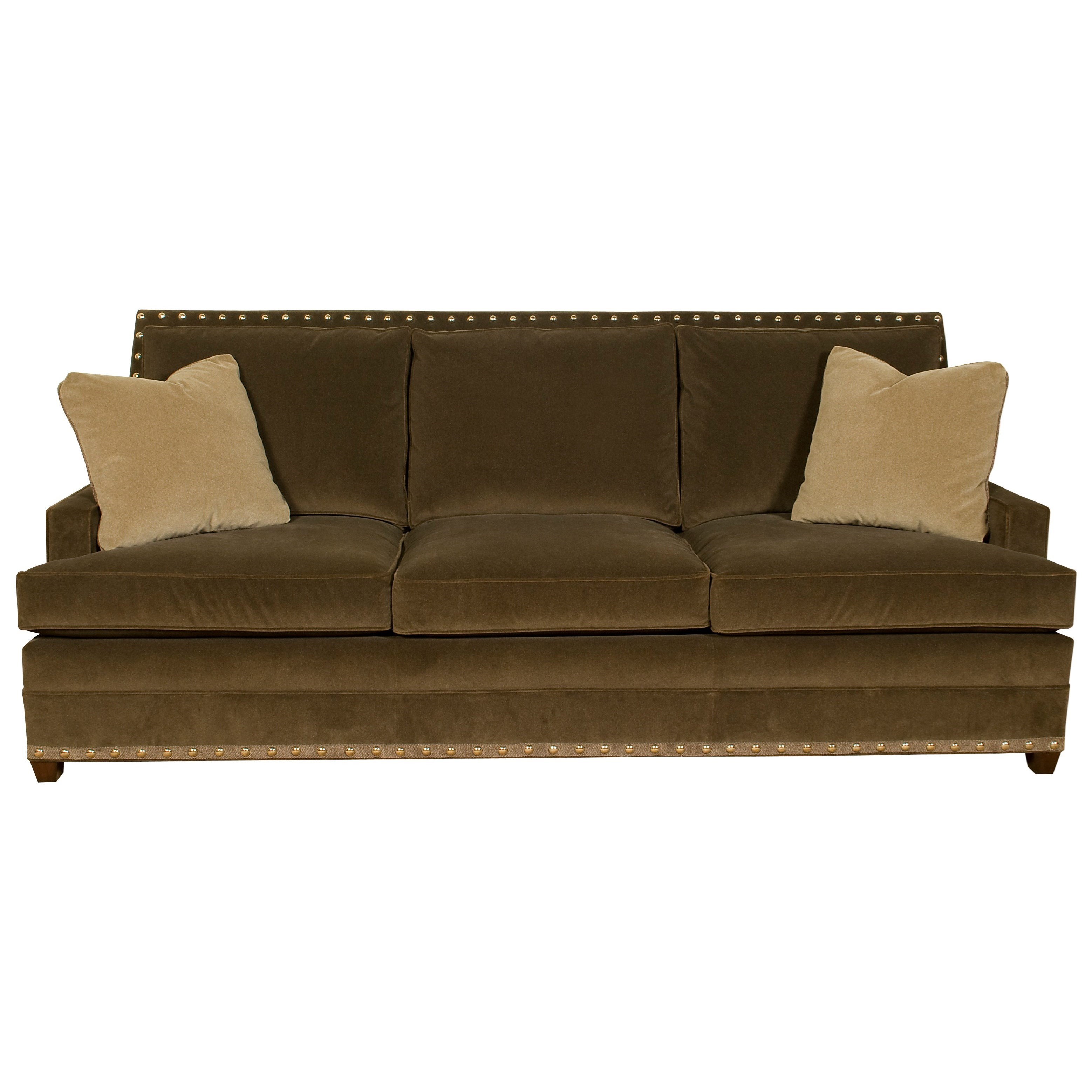 American Bungalow Riverside 3 Seat Sofa by Vanguard Furniture at Baer's Furniture