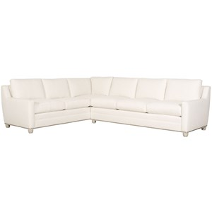 Fairgrove Sectional with Sloped Track Arms