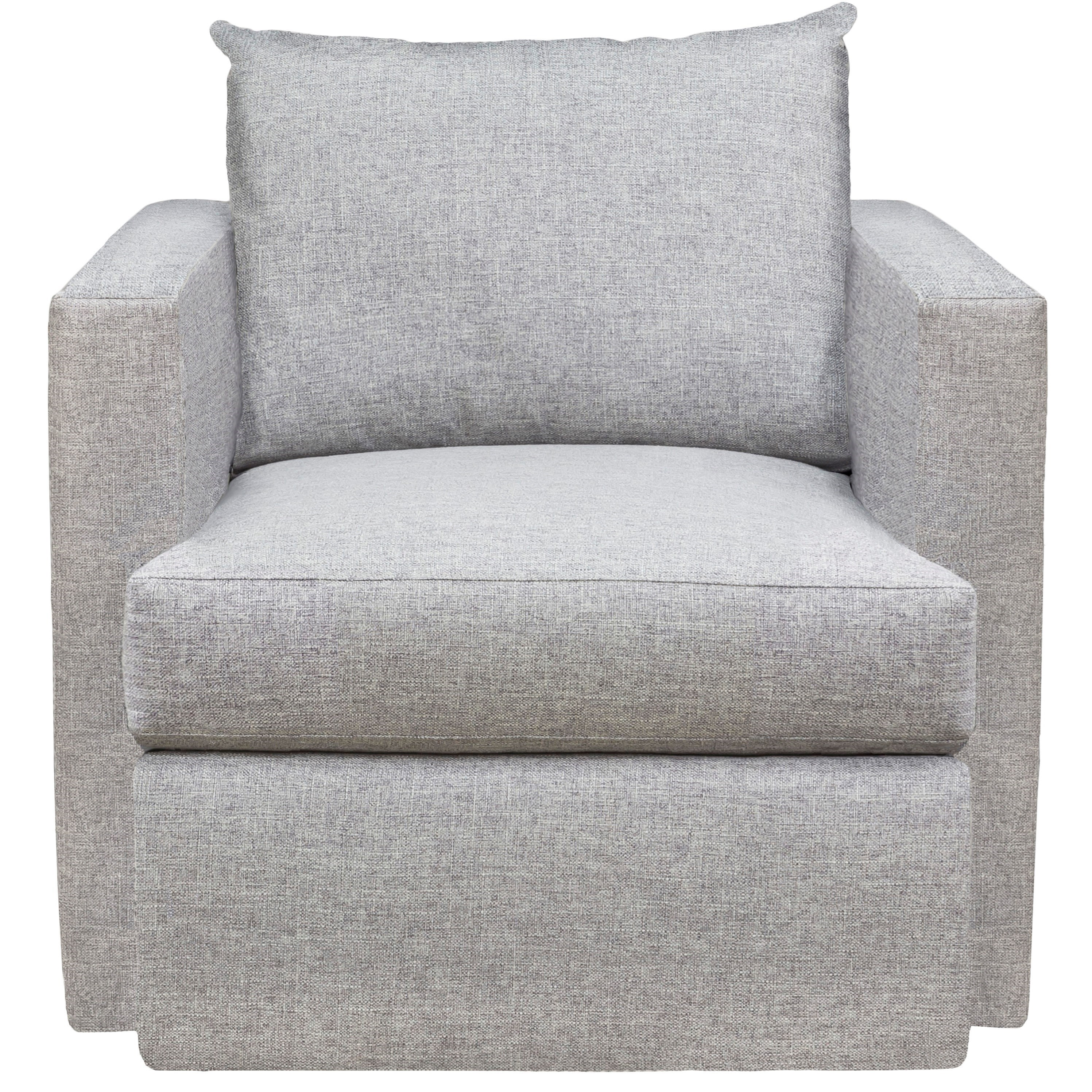 American Bungalow Emory Swivel Chair by Vanguard Furniture at Baer's Furniture