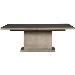 Casual Single Pedestal Dining Table