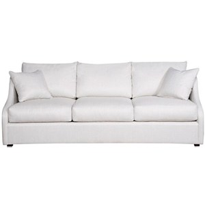 Sloped Arm Sofa