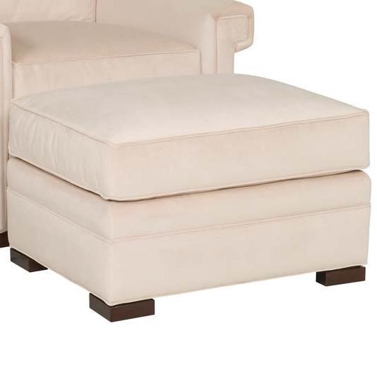 Davidson Ottoman by Vanguard Furniture at Baer's Furniture