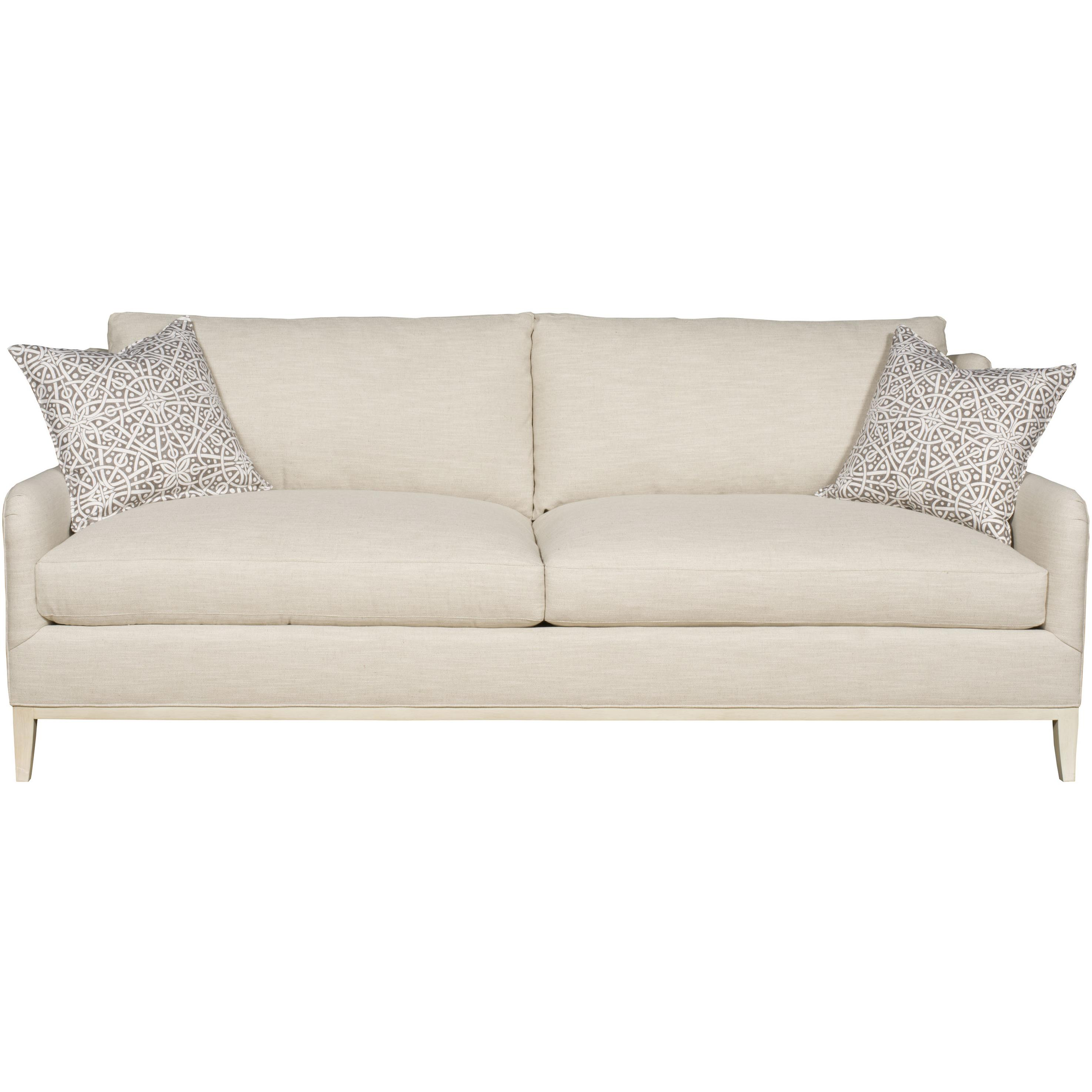 Fisher Contemporary Sofa by Vanguard Furniture at Baer's Furniture