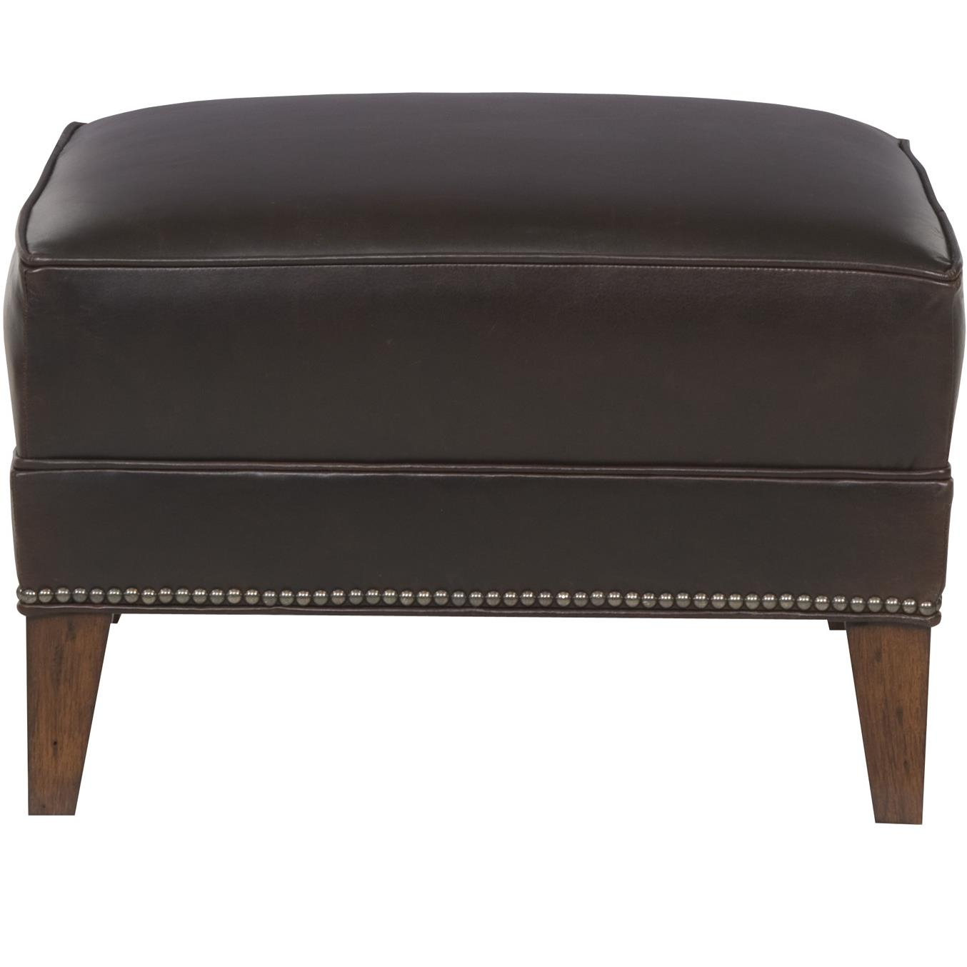 Ginger Traditional Ottoman by Vanguard Furniture at Baer's Furniture
