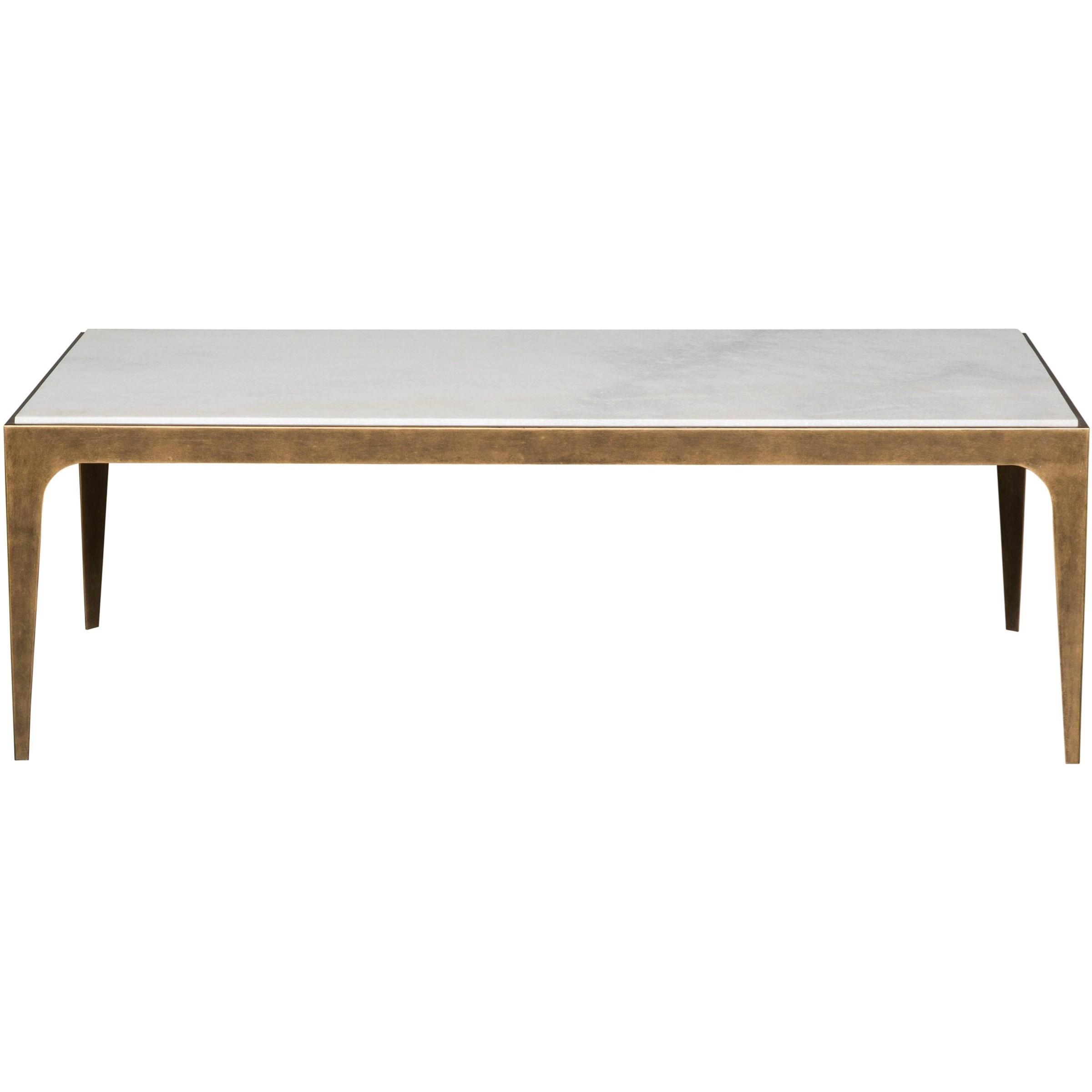 Hancock Rectangular Cocktail Table by Vanguard Furniture at Baer's Furniture
