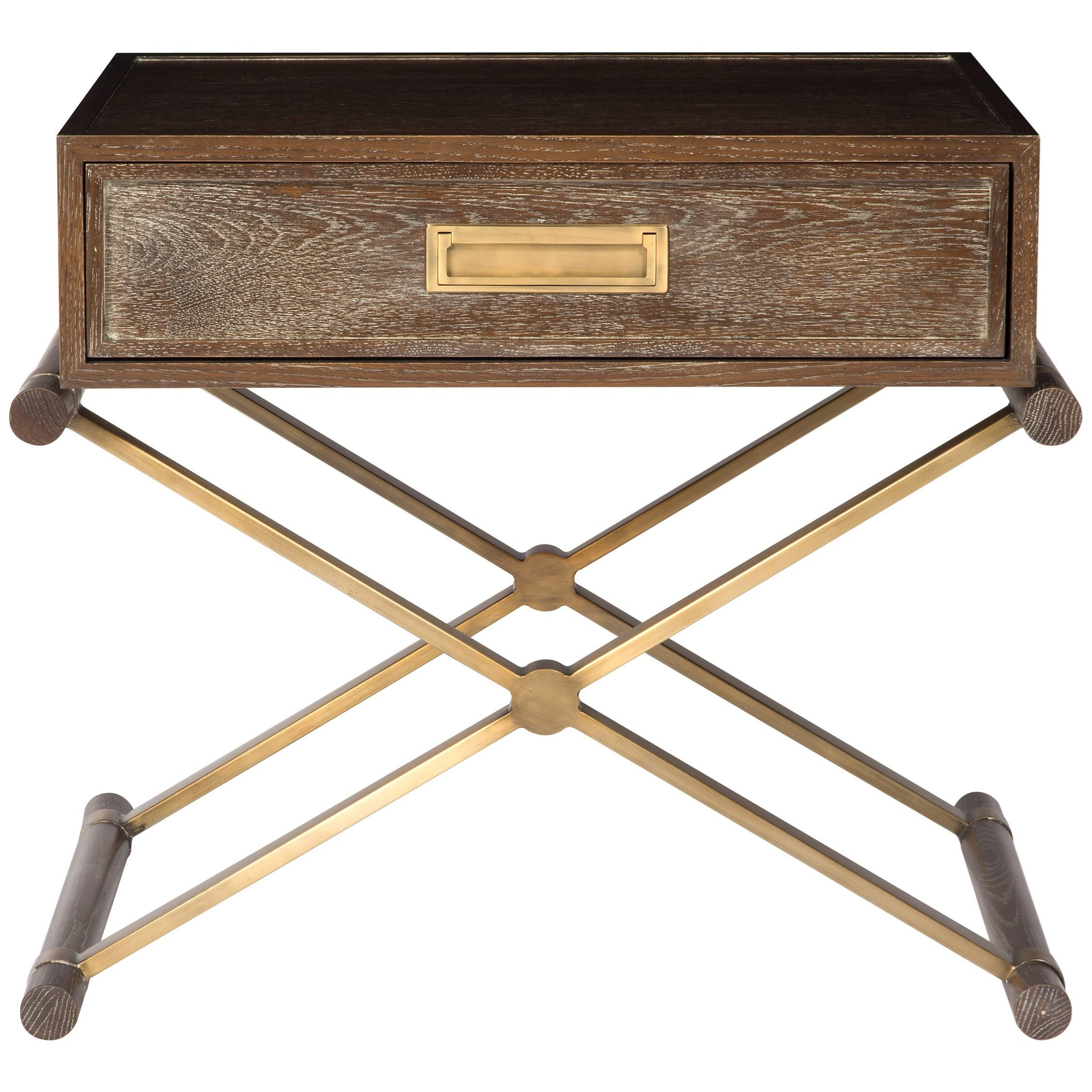 Lafayette by Thom Filicia Home Side Table Nightstand by Vanguard Furniture at Baer's Furniture