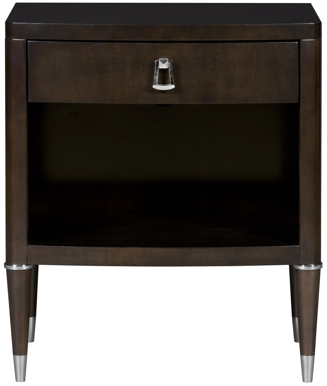 Lillet Bedroom One Drawer Nightstand by Vanguard Furniture at Baer's Furniture