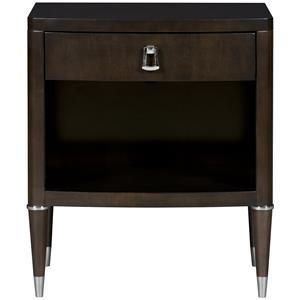 Lillet One Drawer Nightstand