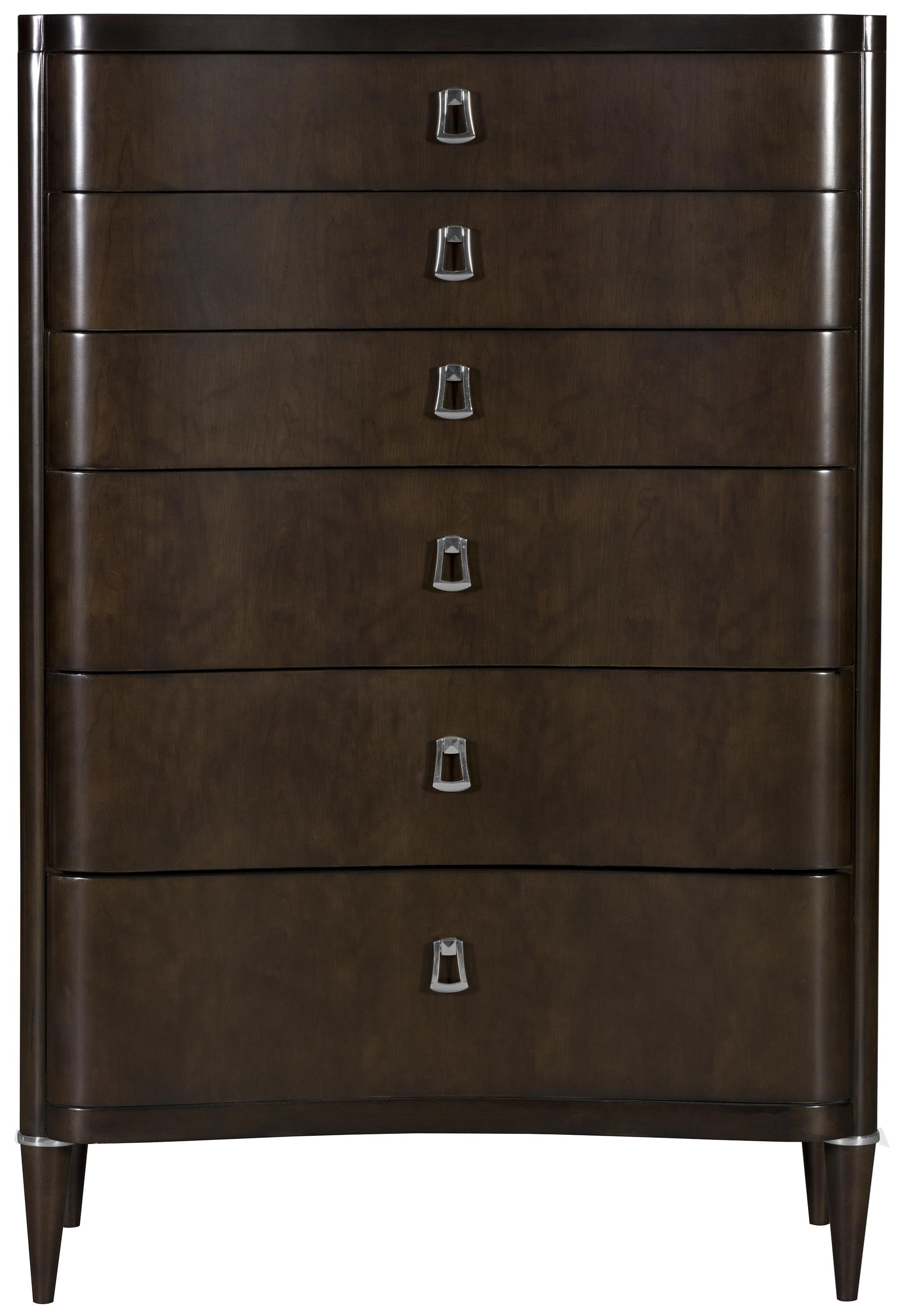 Lillet Bedroom Tall Chest by Vanguard Furniture at Baer's Furniture