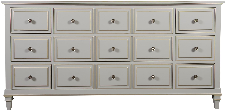 Louis P550 Dresser by Vanguard Furniture at Baer's Furniture