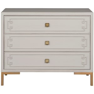 Mckinney Side Table with 3 Drawers