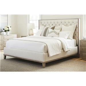 King Tufted Headboard Bed