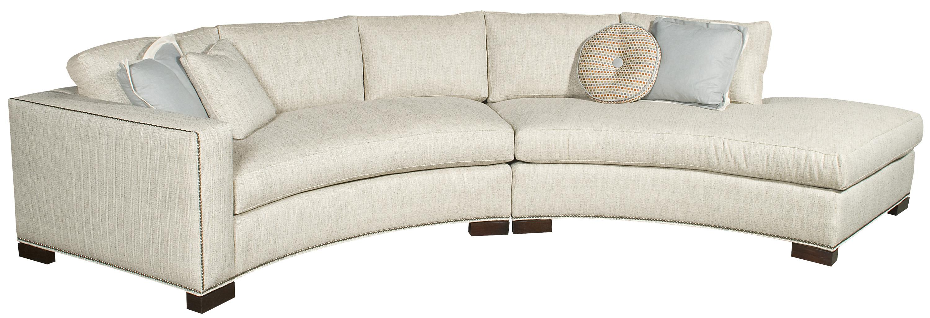 Michael Weiss Bennett Sectional by Vanguard Furniture at Baer's Furniture